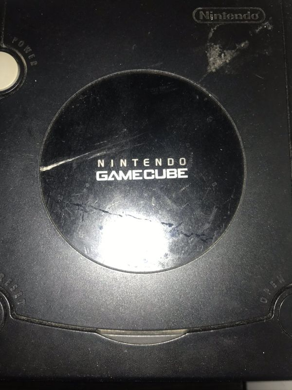 GameCube with 2 games
