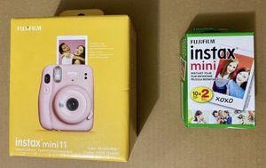 Fujifilm Instax Mini 11 Camera + Pack of 20 film for Sale in Kirkland, WA
