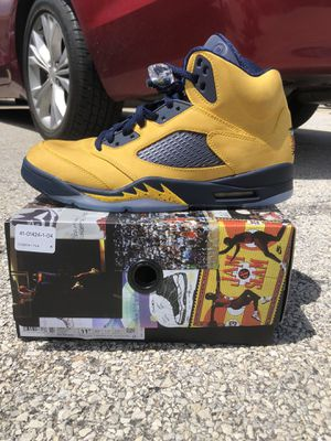 Air Jordan 5 Michigan SZ 10.5,11.5, 13 DS for Sale in Chicago, IL