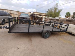 Utility trailer with spare. clean title for Sale in Las Vegas, NV