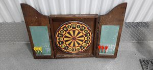 Antique Dart Cabinet with darts. 22x 16 for Sale in Bloomingdale, IL