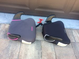 Children booster car seats like brand new for Sale in St. Petersburg, FL