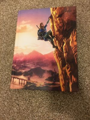 Legend of Zelda breath of the wild complete official guide collectors edition for Sale in Kirkland, WA
