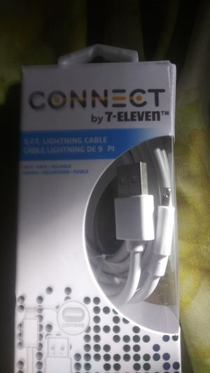 Connect by 711 9ft Lighting Cable for Sale in San Diego, CA