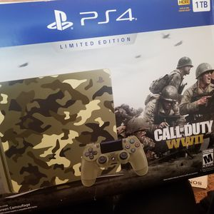 LIGHTLY USED!! PS4 CALL OF DUTY WW2 +EXTRA CONTROL for Sale in Hayward, CA