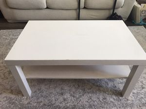 White coffee table for Sale in Hanover, MD