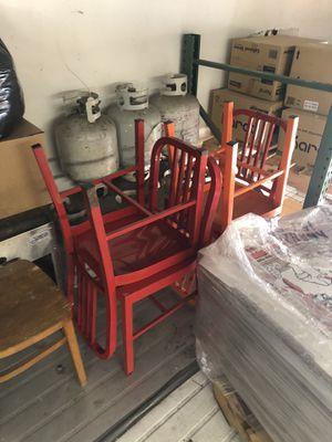 Restaurant equipment,chairs,cooler,freezer,pot, for Sale in Irvine, CA