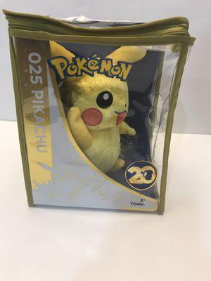 Waving anniversary Pikachu Plush for Sale in Benbrook, TX