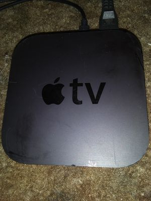 APPLE TV (3RD GENERATION) WORKS GREAT! INCLUDES HDMI CABLE- NEEDS UNIVERSAL REMOTE- for Sale in Bakersfield, CA