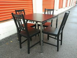 Used ikea table + chairs optional coffee table for Sale in Nashville, TN