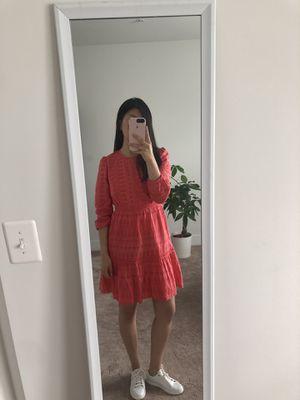 J.Crew Eyelet Flutter-Hem Dress for Sale in Reston, VA