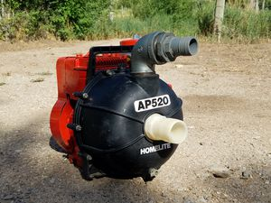 Homelite AP520/Briggs & Stratton water pump for Sale in US