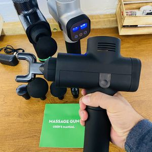 Massage Gun 6/30 Speed Percussion Massager Deep Tissue Muscle Vibrating Relaxing for Sale in Weehawken, NJ