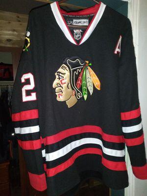 Chicago blackhawks Duncan Kieth Jersey XL for Sale in Arlington Heights, IL