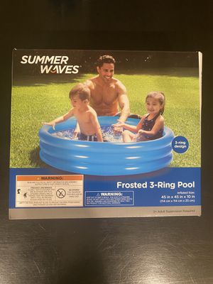 Summer Waves 3 Ring Pool for Sale in Cary, NC
