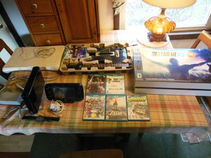 Wii U console, games, and accessories for Sale in Covington, PA