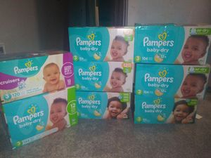 Pampers size 3 bundle for Sale in Kent, WA