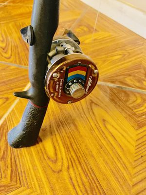 "Daiwa millionaire hi speed reel and abu Garcia 5'6"" for Sale in Bloomington, CA"