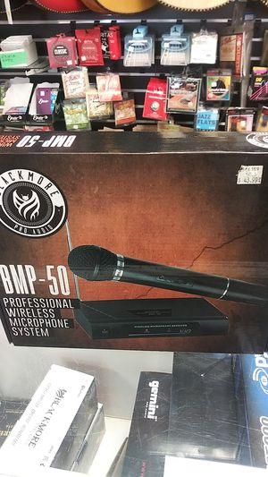 Blackmore pro audio bmp-50 professional wireless microphone system for Sale in Downey, CA