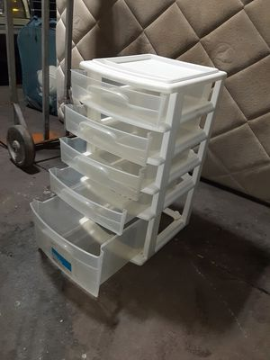 Plastic drawers for Sale in Long Beach, CA