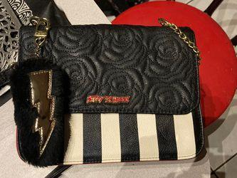 Betsey Johnson over the shoulder bag for Sale in St. Petersburg,  FL