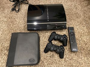 Sony PS3 (4 USB) w/ Bluetooth Remote, 12 Games & 2 controllers for Sale in Menifee, CA