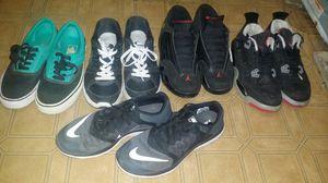 Nikes,vans,jordans used for Sale in Reedley, CA
