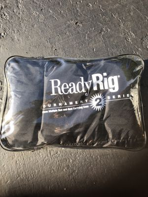 Fishing rod & reel caring case ReadyRig tournament 2 for Sale in Aurora, IL