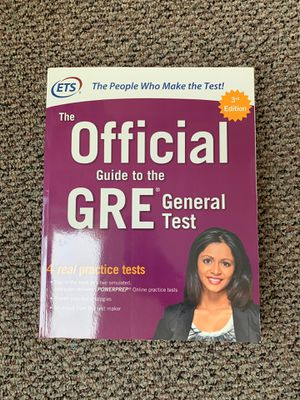 Used - 3rd Edition The Official Guide to the GRE General Test for Sale in Berkeley, CA
