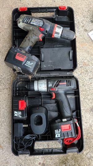 Craftsman 12 volt and 19.2 volt drills for Sale in Honolulu, HI
