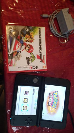nintendo 3ds xl w games and charger for Sale in Essex, MD