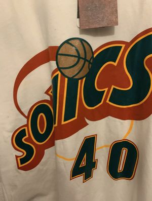 Mitchell and Ness Seattle SuperSonics Shawn Kemp Mens XXL New Jersey Shirt for Sale in Everett, WA