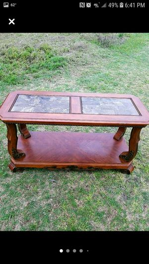Sofa console entry table marble top beautiful for Sale in Orangeburg, SC