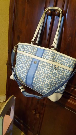 AUTHENTIC COACH TOTE DIAPERS BAG for Sale in Ontario, CA
