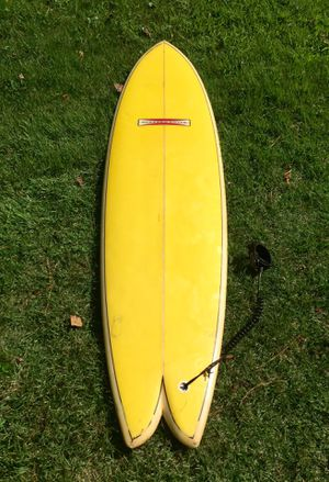 """Vintage 7'0"""" Gordon and Smith Fish Surfboard for Sale in Chesapeake, VA"""
