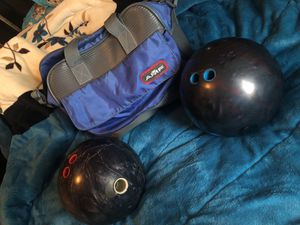 AMF Bowling Bag & Balls for Sale in Green Bay, VA