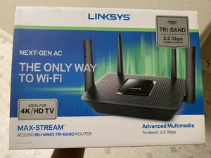 Linksys AC2200 2.2GB Wifi Router for sale for Sale in Las Vegas, NV