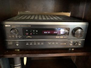 Denon AVR-3300 + Definitive Surround Speakers for Sale in Woodway, WA