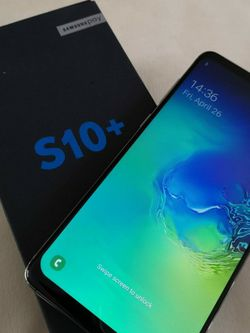 Samsung Galaxy S10 Plus Unlocked for Sale in Houston,  TX