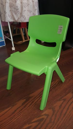 Plastic Kids Chair for Sale in Renton, WA