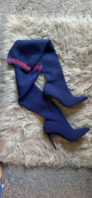 Thigh high boots size 9 for Sale in North Las Vegas, NV