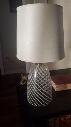 Glass Art Deco Lamp for Sale in Davenport, FL