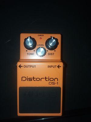 BOSS distortion pedal for Sale in Douglasville, GA
