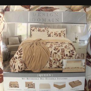 Queen Comforter for Sale in Arlington, TX