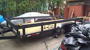 Flat bed car trailer for Sale in Gresham, OR