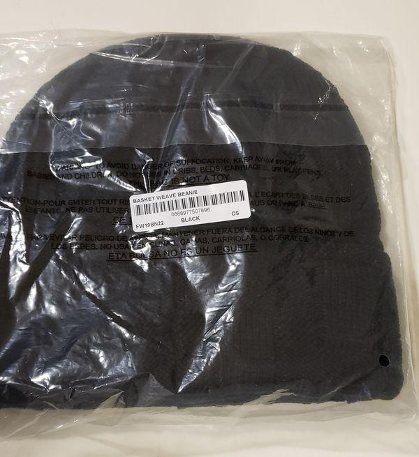 Supreme Basket Weave Beanie Black
