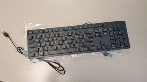 Dell wired keyboard- black KB216 (580-ADMT) for Sale in Castroville, TX