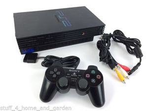 """Sony PlayStation PS2 """"Fat"""" console with DualShock controller for Sale in Lake Forest Park, WA"""