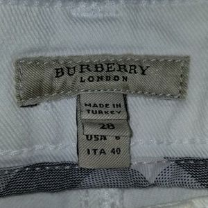 NWOT Women's White Flare Burberry Jeans for Sale in Port St. Lucie, FL