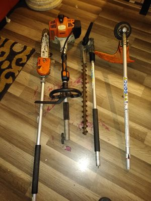 Sthil weet eter trimme and chainsaw for Sale in Antioch, CA